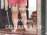 Cellulite Legs Spy Cam