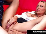 Hot For Teacher! Professor Pussy Julia Ann Fucks Her Pupil!