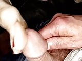 Wifes Big Toe Rubbing My Cock Head