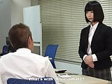 A rookie office lady plans to take revenge by enslaving her
