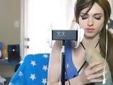 Amouranth - Lara Croft LEWD ASMR