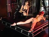 Natasha and Justine explore lesbian dominance and submission