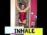 corset rouge de la marquise poppers edition