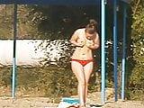 Girl on beach 91