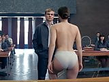 Jennifer Lawrence stripping - Red Sparrow slowed