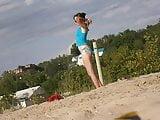 Girl on beach 23