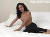 Let me help you jerk off in my tight yoga pants JOI