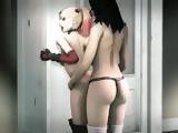 Harley Quinn animated hentai