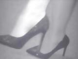 Little nylon feet show