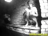 Voyeur girls missing the toilet - 05