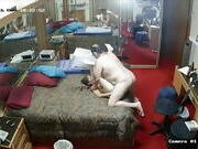 old man with hooker in hotel IP camera