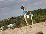 Girl on beach 24