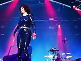 Pregnant Baby-Maker Regine Chassagne Performing On Stage