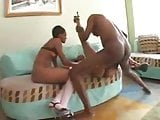 Mr Ltee gets into threesome with sweet young ebony poo poo