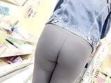 Hot Ass in Leggings Pt2 (partial close-up)