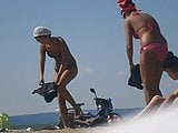 Girls on beach 55
