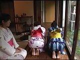 Dressed In Kimono Spanking
