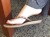 Candid Girl Flip Flops Part 2