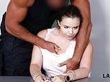 LAW4k. Chick steals wallets in the park and gets fucked for