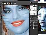 Selena Gomez in Navi Avatar Fake !