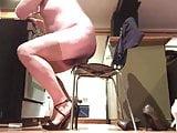 Dildo and heels