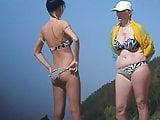 Girls on beach 57