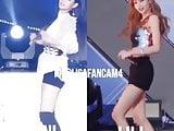 Korean celeb lisa and jennie dance hot